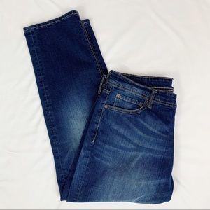 William Rast Men's Dark Wash Straight Jeans Sz 36